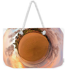 Belongil Sunset In Byron Bay Weekender Tote Bag