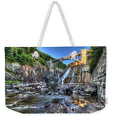 Below The Dam Weekender Tote Bag