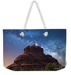 Below The Milky Way At Bell Rock Weekender Tote Bag
