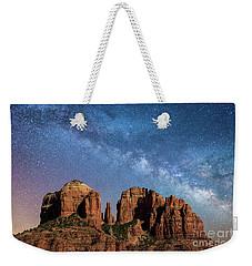 Below The Milky Way At Cathedral Rock Weekender Tote Bag