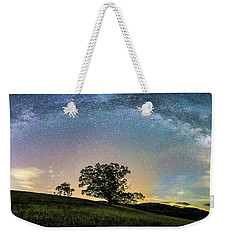 Below The Milky Way At The Blue Ridge Mountains Weekender Tote Bag