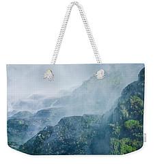 Below Wallace Falls Weekender Tote Bag