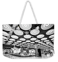 Belt 18 Madrid Airport Weekender Tote Bag