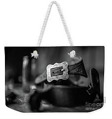 Belt Buckle Weekender Tote Bag
