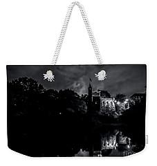 Belvedere Castle In Central Park At Night Weekender Tote Bag