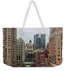 Belvedere Hotel New York City  Room With A View Weekender Tote Bag