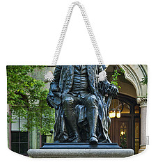 Ben Franklin At The University Of Pennsylvania Weekender Tote Bag