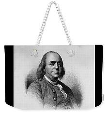 Ben Franklin Weekender Tote Bag by Richard W Linford