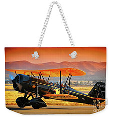 Ben Scott's Stearman Speedmail 4e Version 2 Weekender Tote Bag
