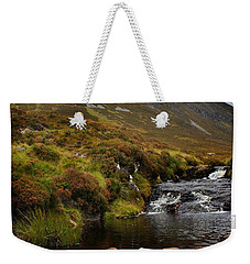 Weekender Tote Bag featuring the photograph Ben Wyvis by Joe Macrae