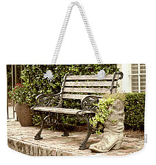 Bench And Boot 2 Weekender Tote Bag