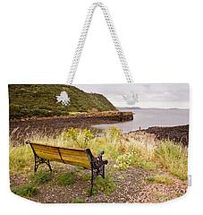 Bench At The Bay Weekender Tote Bag