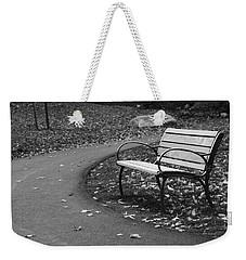 Bench On The Walk Weekender Tote Bag