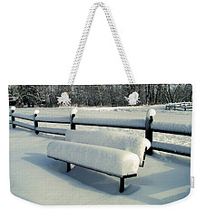 Benched Weekender Tote Bag