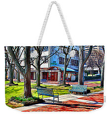 Benches Weekender Tote Bag