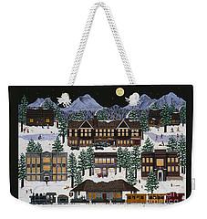 Bend @ Night Weekender Tote Bag