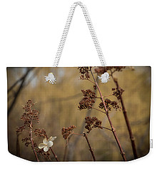 Bending In The Wind Weekender Tote Bag