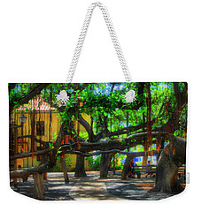 Beneath The Banyan Tree Weekender Tote Bag
