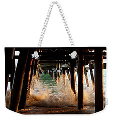 Beneath The Pier Weekender Tote Bag