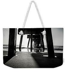 Beneath The Pier Weekender Tote Bag