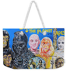 Beneath The Planet Of The Apes - 1970 Lobby Card That Never Was Weekender Tote Bag