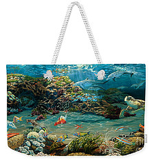 Beneath The Sea Weekender Tote Bag
