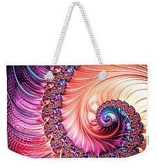 Beneath The Sea Spiral Weekender Tote Bag