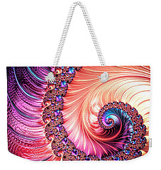 Beneath The Sea Spiral Weekender Tote Bag