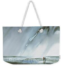 Beneath Turbulent Skies Weekender Tote Bag