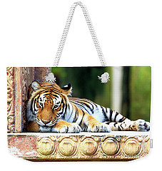 Bengal Tiger Weekender Tote Bag