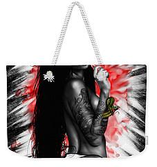 Benisato Weekender Tote Bag by Pete Tapang