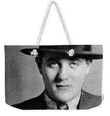 Weekender Tote Bag featuring the photograph Benjamin Bugsy Siegel by Granger