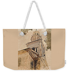 Bennington, Vt - Congregational Church Weekender Tote Bag