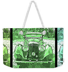 Bentley Green Pop Art Triple Weekender Tote Bag