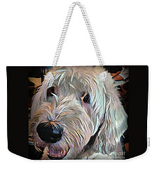 Weekender Tote Bag featuring the photograph Bentley by Jodie Marie Anne Richardson Traugott          aka jm-ART