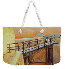 Bent's Old Fort Weekender Tote Bag