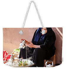 Weekender Tote Bag featuring the photograph Berber Woman by Andrew Fare