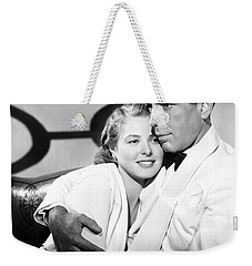 Bergman And Bogart 1942 Weekender Tote Bag