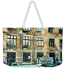 Berlin House Wall With Graffiti  Weekender Tote Bag