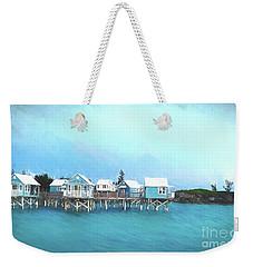 Bermuda Coastal Cabins Weekender Tote Bag