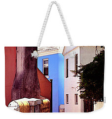 Weekender Tote Bag featuring the photograph Bermuda Street Scene-study#6 by Richard Ortolano