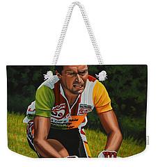 Bernard Hinault Weekender Tote Bag