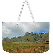 Bernese Alps Switzerland Mountain Landscape Weekender Tote Bag