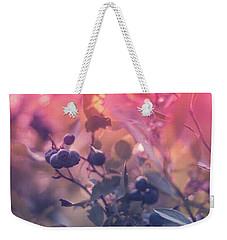 Berries In The Sun Weekender Tote Bag by Stefanie Silva