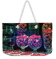 Berries In The Window Weekender Tote Bag