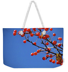 Berry Branch Weekender Tote Bag