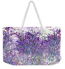 Berry Bush Weekender Tote Bag by Ellen O'Reilly