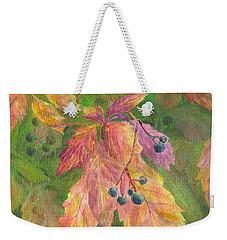 Berry Challenge Weekender Tote Bag