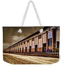 Berth 58 Port Of Los Angeles Weekender Tote Bag by Joseph Hollingsworth