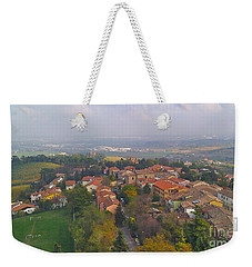 Bertinoro View -romagna Weekender Tote Bag
